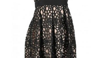 A New Twist On the Little Black Dress- Black Lace!