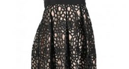 A New Twist On the Little Black Dress- Black Lace!